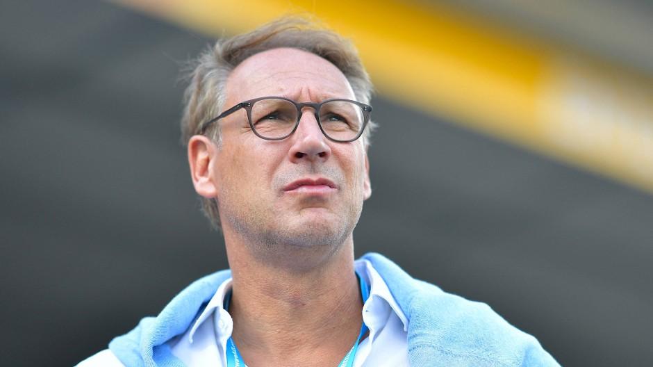 """Blickt einer weiteren Amtszeit als Präsident der """"Lilien"""" entgegen: Rüdiger Fritsch"""