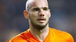 Sneijder macht es wie Robben