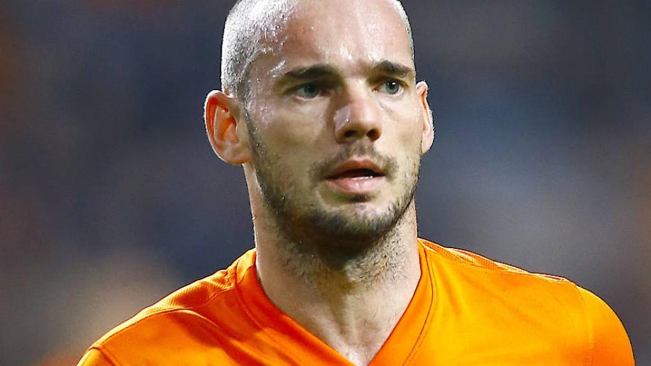 Auch Wesley Sneijder könnte auf seine alten Tage noch einmal zurückkehren.