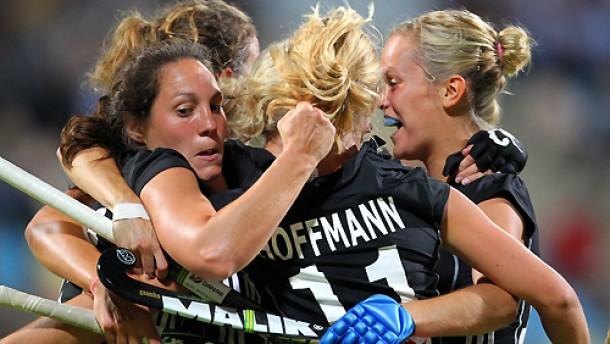 Verdient die deutschen hockey damen bejubeln den einzug ins em finale