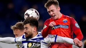 Paderborn gewinnt Zweitliga-Duell im DFB-Pokal