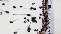 Die eigenartige Welt des Eishockeys
