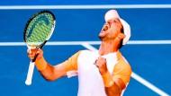 Kaum zu glauben, aber wahr: Mischa Zverev steht im Viertelfinale.