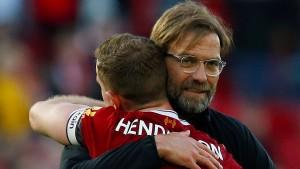 Klopp jubelt mit Liverpool