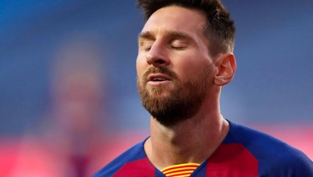 Das Ende der Ära Messi beim FC Barcelona ist nahe