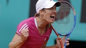 Justine Henin weigert sich zu verlieren