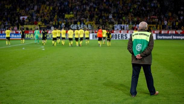 Eine Rüge für die Fußball-Bundesliga