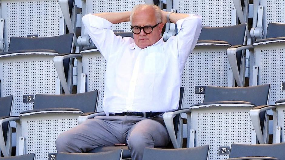 Die Unterstützer von DFB-Präsident Fritz Keller werden weniger.