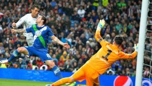 Cristiano Ronaldo 3, Wolfsburg 0