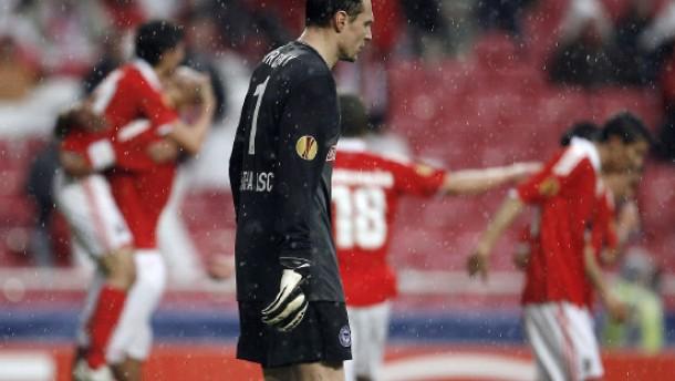 Hertha verliert 0:4 in Lissabon und scheidet aus