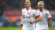 Mann des Tages? Franck Ribéry wirbt beim Bayern-Sieg in Leverkusen in eigener Sache