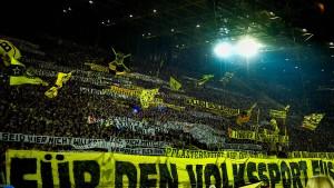DFB will Dortmunder Südtribüne sperren lassen