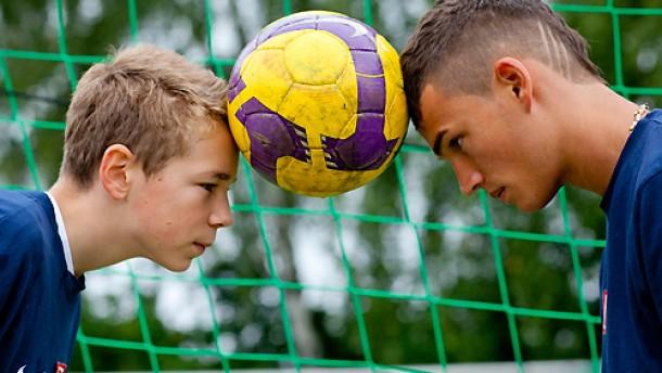 Fußball und Schule: Das kostet Kraft