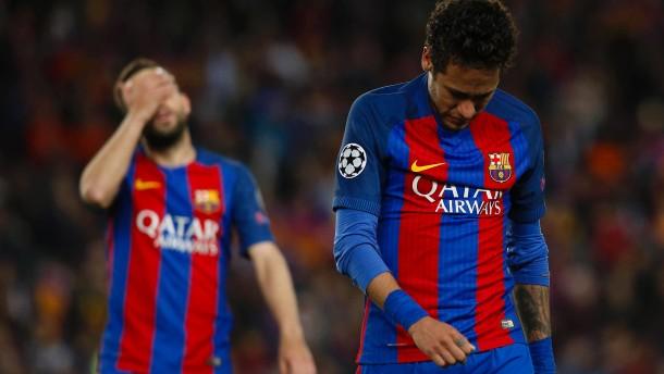 """Tränen in Barcelona nach dem """"Begräbnis"""""""
