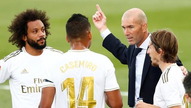 Zidane mit Wutrede nach Sieg von Real Madrid