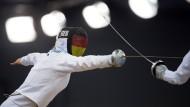 Sticht: Britta Heidemann im Gefecht für Deutschland