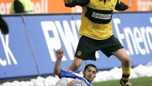 Klimowicz-Doppelpack rettet Dortmund