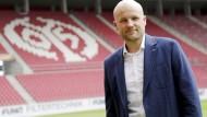 Sucht seinen eigenen Weg: der Mainzer Sportdirektor Rouven Schröder