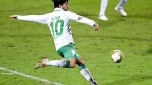 Diego schenkt Bremen einen Funken Hoffnung
