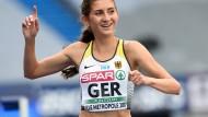 In Lille überzeugten vor allem die Läuferinnen – wie Gesa Krause
