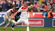 Elfmeter Lehmann, Ausgleich FC: Der Strafstoß sichert Köln einen Punkt