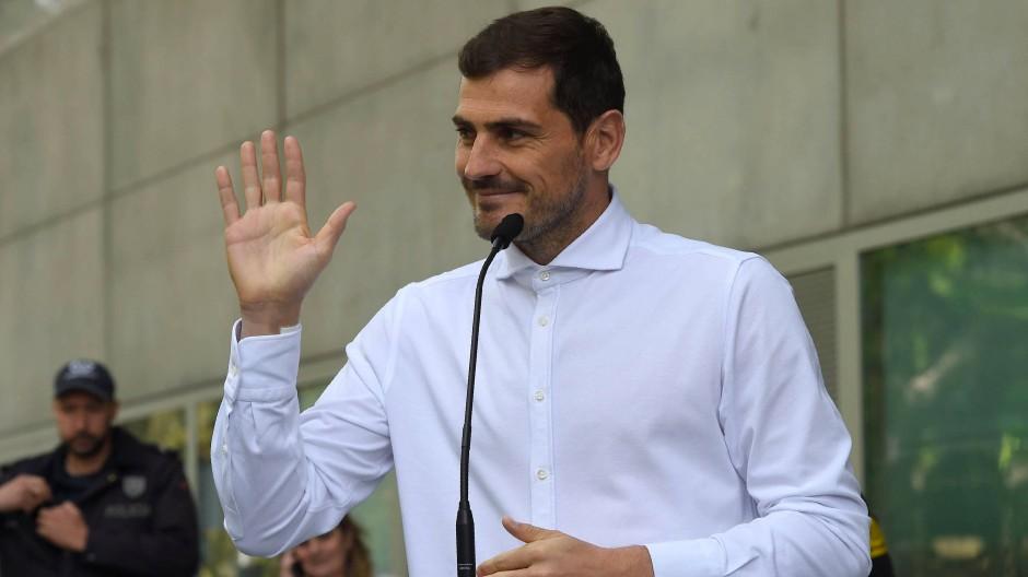 Bereit für große Aufgaben: Iker Casillas, hier 2019
