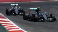 Dominanz in Silber: Rosberg vor Hamilton