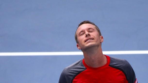 Kohlschreiber chancenlos gegen Djokovic