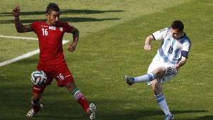 Argentinien dankt Gott und Messi