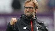 Klopp und Liverpool jubeln in Serie