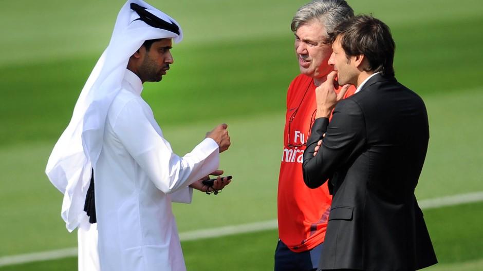 Die Scheichs aus Qatar zahlen nicht nur, sie verändern auch den Verein