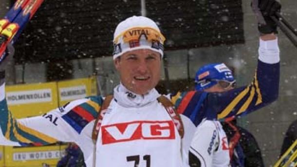Norwegische Skijäger kennen ihr Revier
