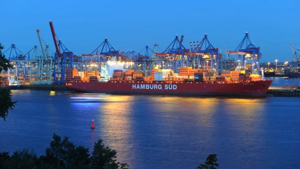 Hapag-Lloyd und Hamburg Süd reden über Fusion