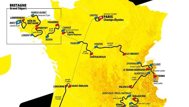 Doppelte Ventoux-Qual und eine XXL-Etappe