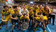 Erstmals in der Geschichte werden die Rhein-Neckar Löwen deutsche Handball-Meister.