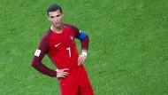 Alles vorbei für Portugal: Ronaldo durfte im Elfmeterschießen gar nicht mehr antreten.