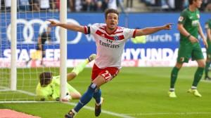Hamburgs Müller trifft, jubelt und leidet