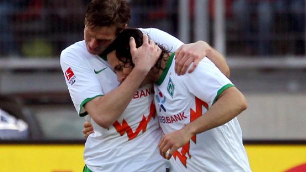 Wagner und Pizarro befreien Bremen