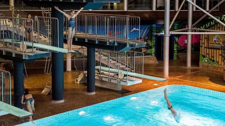 Als Trainingsmöglichkeit dahin: das Frankfurter Rebstockbad, hier 2017