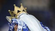 King Ballack: Nach vier Chelsea-Jahren ist er erstmals Meister in England