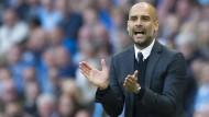 Applaus: Manchester City gewinnt im Premierenspiel von Pep Guardiola