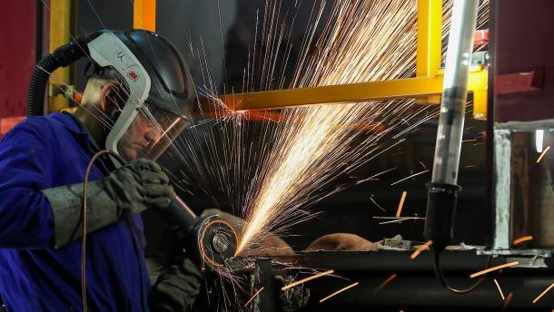 Lichtblick für die Maschinenbauer