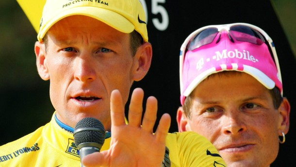 Aktiv gegen passiv: Armstrong tickt immer noch im Angriffsmodus, Ullrich war schon immer der nette K