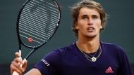 Wie sind die Aussichten für Alexander Zverev bei den French Open?