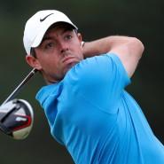 Das Ziel im Blick: Rory McIlroy beim Training für die British Open