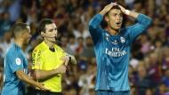 Lange Ronaldo-Sperre nach Angriff auf Schiedsrichter