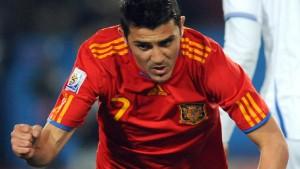 Spaniens Villa trifft - und trübt seine Leistung