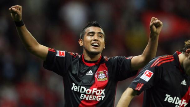 Leverkusener Last-Minute-Erfolg
