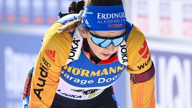 Ernüchternde Bilanz für Deutschlands Biathleten