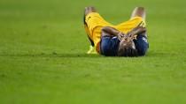 Wieder am Boden, wieder gescheitert: Valentino Lazaro und RB Salzburg